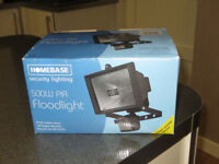 Homebase 500w pir Floodlight - new in box