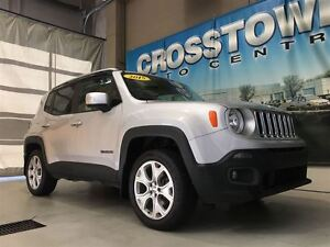 2015 Jeep Renegade Limited | 2.4L I4 | 9-speed auto | heated sea