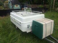 4 birth commanche trailer tent.