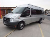 FORD TRANSIT 17 SEAT BUS ( HAVE 14 FITTED) ONLY 53000 MILES 2007