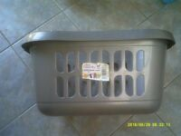 PLASTIC AIRING/LAUNDRY BASKET (NEW & UNUSED) 2 X AVAILABLE