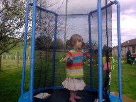 My First Trampoline Toddler Baby Child Kid Indoor Outdoor