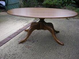 Ercol large coffee table/supper table