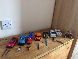 Transformers Warrior class bundle