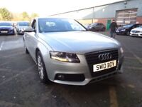AUDI A4 2.0 TDI 143 Executive SE 4dr [Start Stop] (silver) 2010