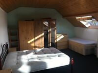 Loft (huge double room)