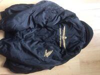 Goldwing biker jacket in black with fleece inside. Size large 42.