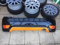 Ford Fiesta MK6 rear bumper