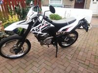 Yamaha WR125R Learner Legal Motorcycle