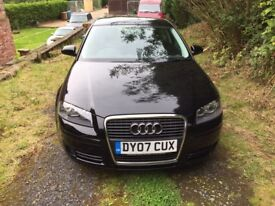 Audi A3 1.6 petrol 2007 with 40,000 Miles on. Mot till aug 2018 with full service history
