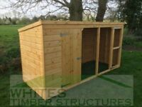 Dog Kennel and Run 10x4