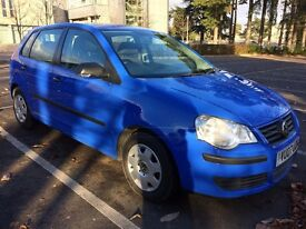 Volkswagen Polo 1.2 Petrol Hatchback 5dr, Low Mileage and Year MOT