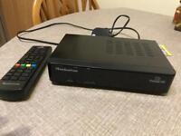Freesat hd box with remote