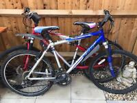 2 x men's apollo mountain bikes for sale