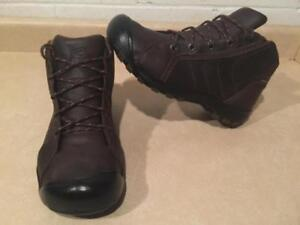 Mens Size 9 Keen Dry Waterproof Leather Hiking Boots