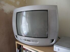 phillips analogue tv and set top box