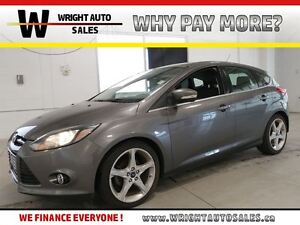 2013 Ford Focus TITANIUM |HEATED SEATS| LEATHER| 105,433 KMS|