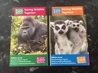 ** BRISTOL ZOO TICKETS ** L@@K
