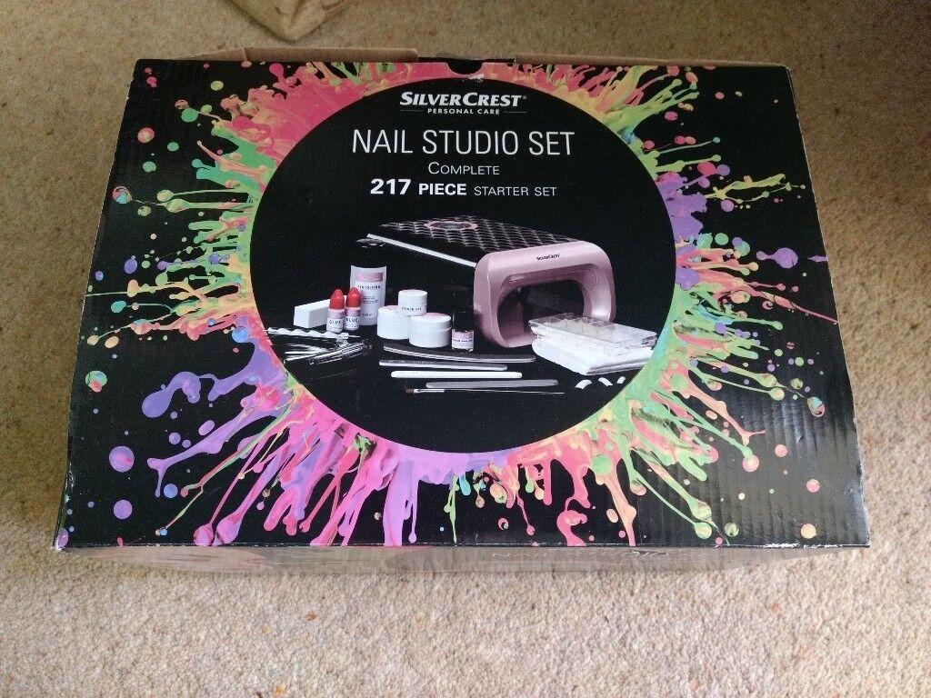 Silver Crest Nail Studio Kit