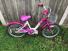 """Paris 20"""" Wheel Girls Bike. Fully Serviced. Great Condition. Free Lock, Lights, Delivery"""