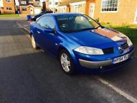 RENAULT MEGANE CONVERTIBLE 2005/54 PLATE CLEAN IN OUT START RUNS FULL SERVICE HISTORY