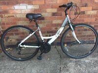 "Ladies Apollo Elyse City Hybrid comfort bike 16"" Frame 700c Wheel - CAN deliver York local Free"
