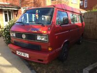 VW T25 Westfalia California Pop-up 2.0L Petrol Auto