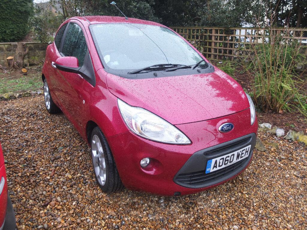 Ford Ka Titanium   Litre Petrol  Miles Manual Mot Till May