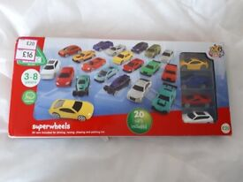 ELC 20 Toy Cars Gift Set - Brand New in Box - RRP £20 - Christmas Gift Idea - Die Cast - Kids