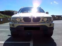BMW X5 4.4i V8 E53 SUV 4x4 - STORED IN GARAGE GREAT CONDITION
