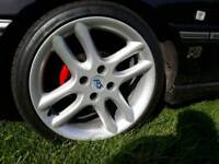 "ford rs alloys 17"" old school escort rs cosworth sierra fiesta orion xr mondeo very rare"