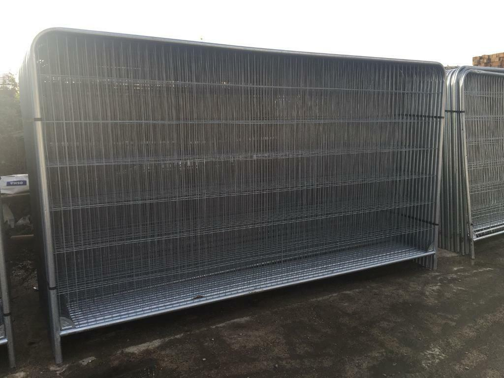 SITE SECURITY HERAS FENCE PANELS X 50 > NEW