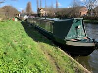 Narrowboat 58ft with West London mooring
