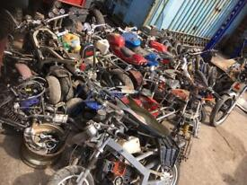 Scooters mini motns pit bikes wanted free pick up