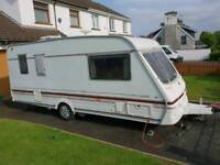 SOLD .....Swift 490 se lux 1996 5 berth with powertouch remote mover