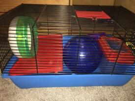 Hamster Cage and toys