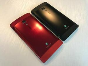 Sony Xperia iON 16GB Black Red - UNLOCKED W/FREEDOM - 10/10 NEW - Guaranteed Activation + No Blacklist