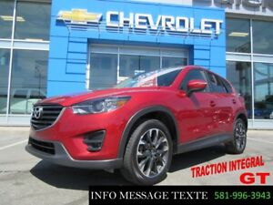 2016 Mazda CX-5 AWD GT, TOIT OUVRANT, GPS