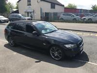 BMW 318d sport plus satnav Bluetooth USB electric tow bar leathers