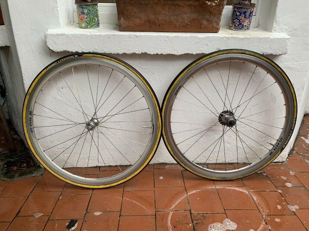 Campagnolo Atlanta 96 Wheel set Shimano 600 Hubs 7 Speed Michelin Tyres  700c | in Lewisham, London | Gumtree