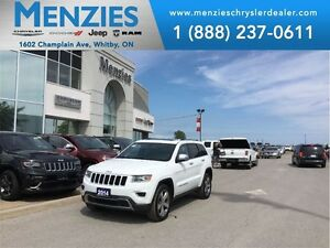 2014 Jeep Grand Cherokee Limited, Bluetooth, GPS, One Owner, Cle