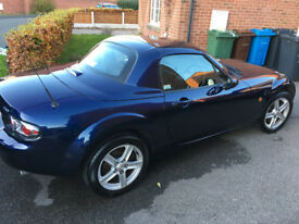 2008 Mazda MX5 Electric Hardtop Low Mileage , Service History - Great Car