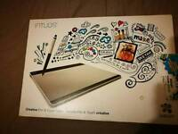 Graphics tablet ( Used once) Wacom intuos cth-68OS graphics tablet