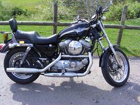 Harley-Davidson xlh 883 with 1200 upgrade