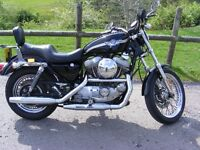 Harley-Davidson xlh 883 with 1200 upgrade