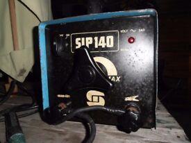 SIP 140 ARC STICK WELDER PROFESSIONAL 240 V.