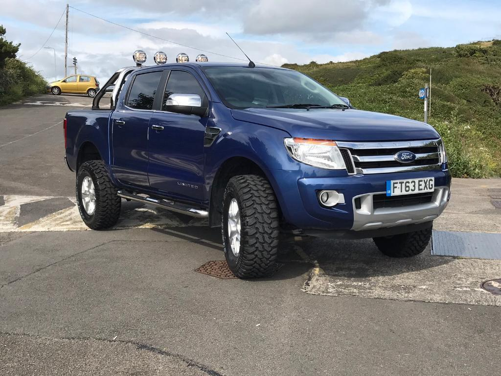 2013 ford ranger 3 2 limited no vat in mumbles swansea. Black Bedroom Furniture Sets. Home Design Ideas