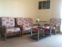 Sofas and coffee table for £30