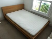 Bed and mattress very good condition