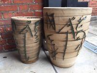 Plant Pots - pair